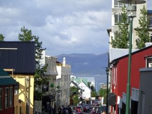 Reykjavik, Iceland street scene