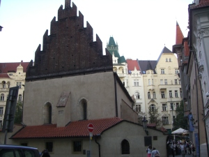The Stara Nova (Old New Synagogue) in Prague