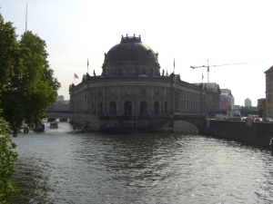 The Bodemuseum on the River Spree in Berlin