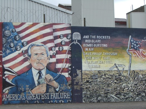 Mural in Belfast, Northern Ireland